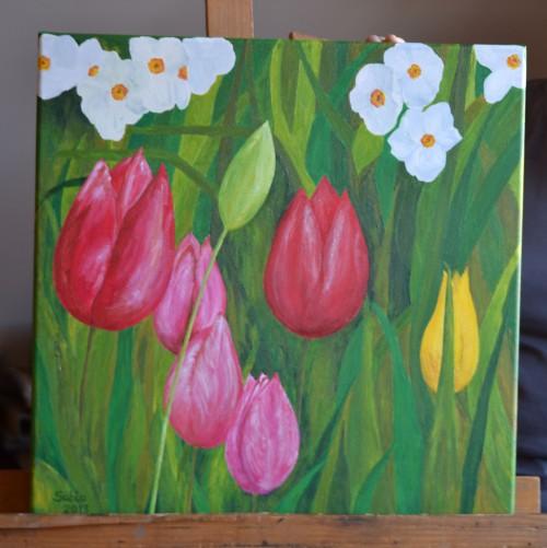 cuadro_tulipanes